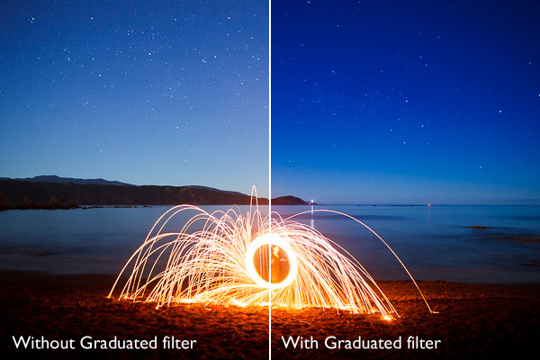 Lightroom graduated filters