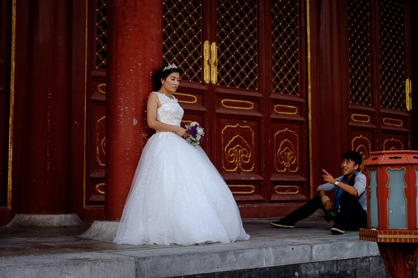 Wedding, Temple of Heaven, Beijing, China