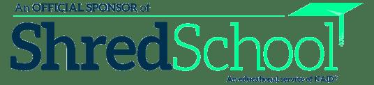 NAID Shred School logo horiz
