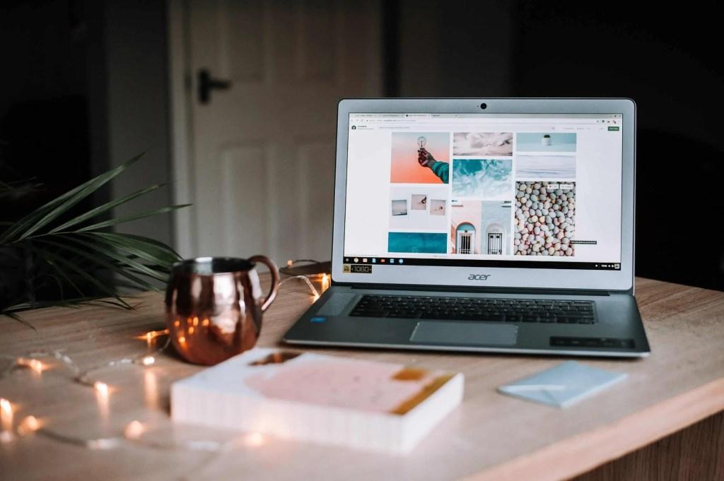 Blogger vs vlogger - blogging set up