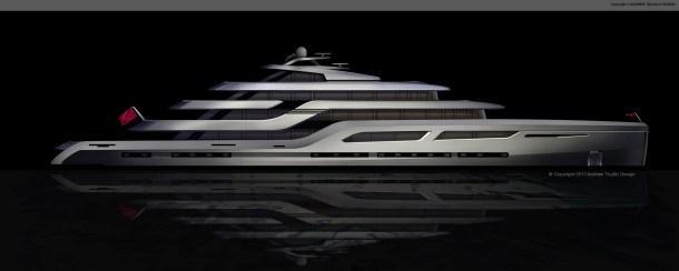 """95M motor yacht """"Carib"""""""