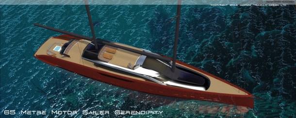 65M Motor Sailer.