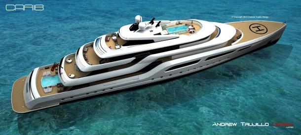 "95 Metre Motor Yacht ""Carib"""