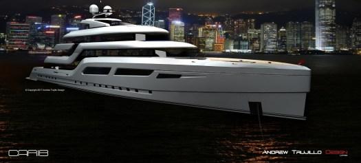 "95 Metre Motor Yacht ""Carib"" - in Hong Kong."