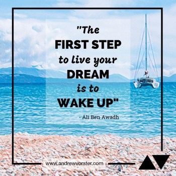 Quote - Live your dream