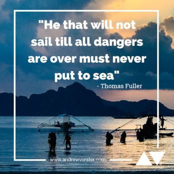 Never put to sea