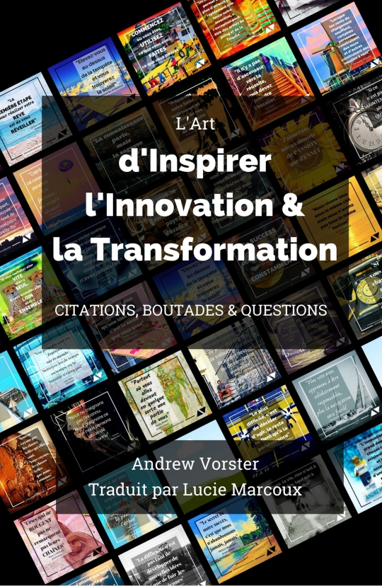 Front book cover for French version of book