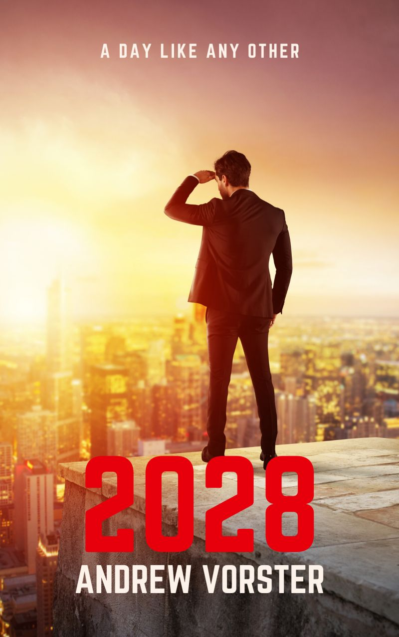 a day like any other in 2028