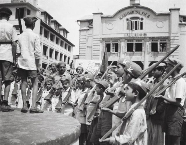The Children's Militia at Srinagar's Lal Chowk