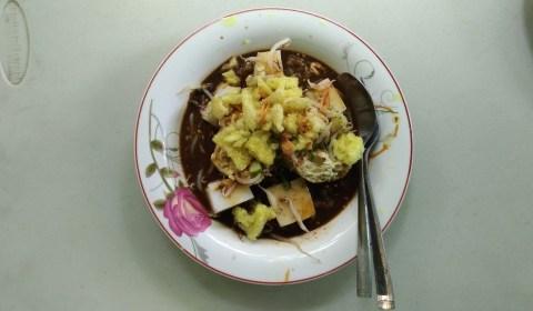 Kupat Tahu Petis & Sayur Pak Haji (Jalan Halimun)