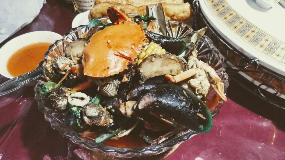 Dibungkus: Seafood Combo Bang Bopak