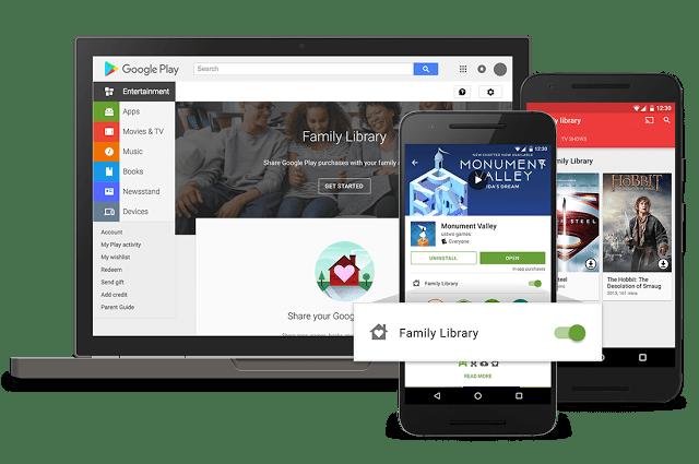 GoogleFamily-Library-Interfaz