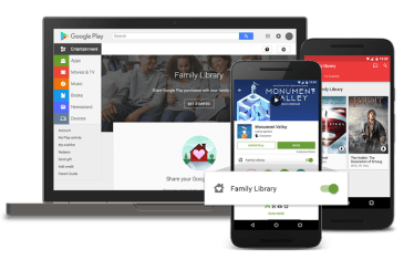 GoogleFamily-Library-Interfaz