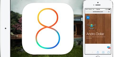 iOS 8 – AndroDollar