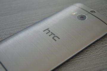 HTC-One-M8-liegend-ausschnitt-Logo