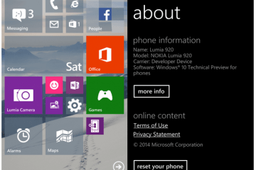 Lumia 920 Windows 10 – Andro Dollar