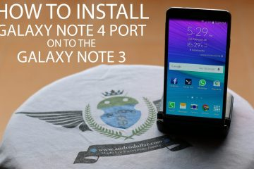 Tweaked Ported Galaxy Note 4 Lollipop Rom for Galaxy Note 3 – Andro Dollar