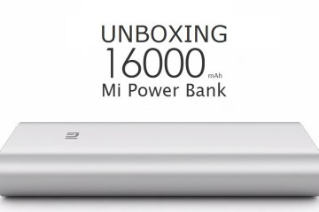 Unboxing Xiaomi 16000mAh Powerbank