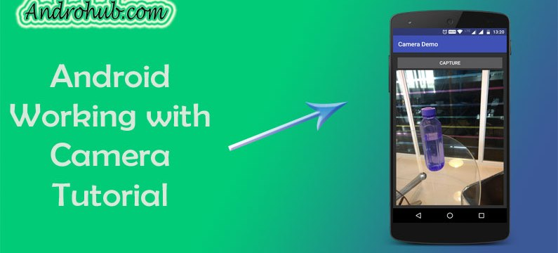 Android working with Camera - Androhub