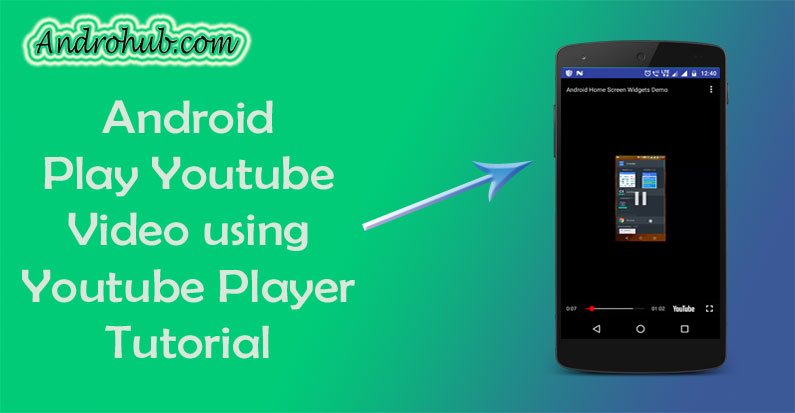 How to download video from youtube in android programmatically
