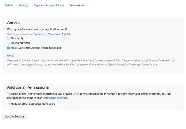 Permission Screen