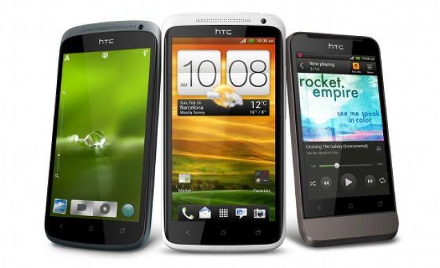 Die One Family von HTC mit den Modellen X, S und V