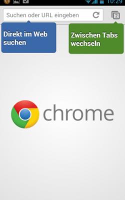Google Chrome als Beta für Android 4.0