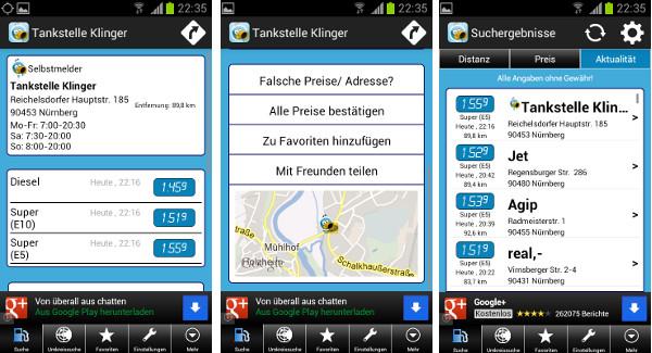 Mehr Tanken App Android