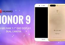 honor 9 con 6 gb ram