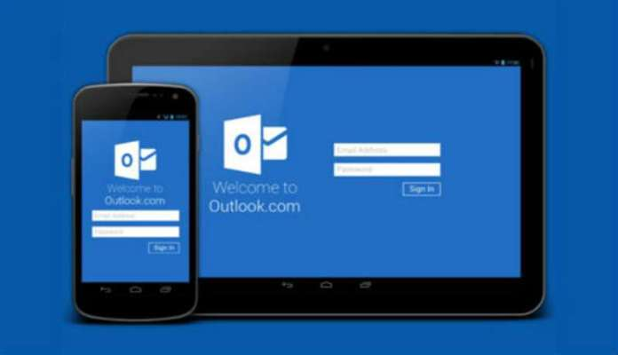 microsoft outlook android aggiornamento