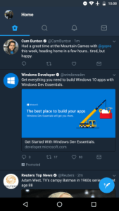 twitter beta android