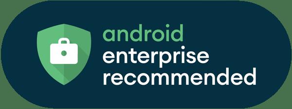 Risultati immagini per android enterprise recommended
