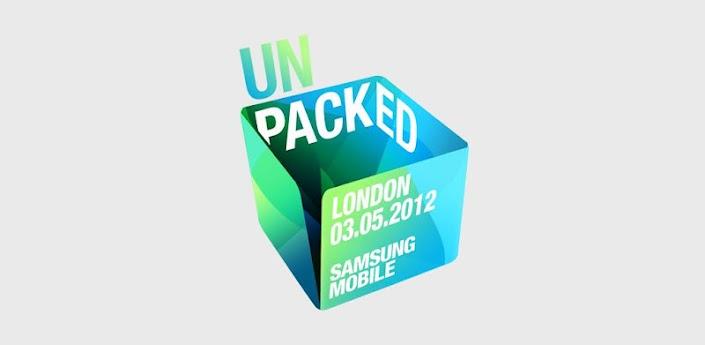 Pour suivre la sortie du GALAXY S3 : l'application officielle SAMSUNG «Unpacked»