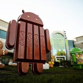 Android KitKat au siège de Google