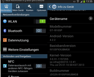 Download Android 4.2.2 Jelly Bean update Galaxy S2 Plus
