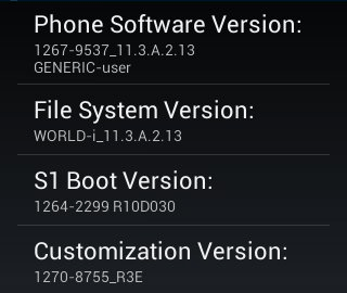 Download new update for Xperia E devices