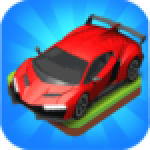 Merge Car game free idle tycoon .APK MOD Unlimited money Download for android