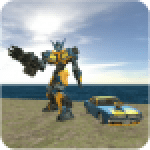 Muscule Car Robot 2.3 .APK MOD Unlimited money Download for android