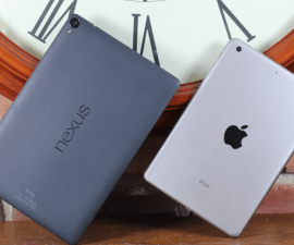 Google Nexus 9 and the Apple iPad Mini 3