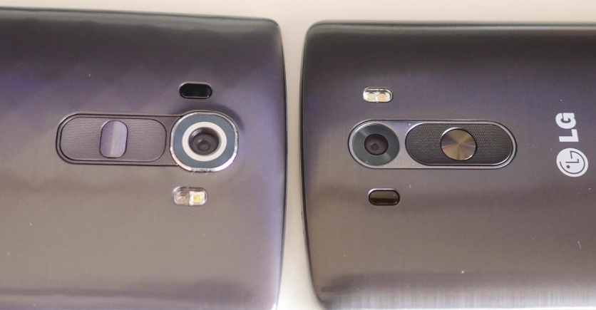 similarities of LG's G3 and G4