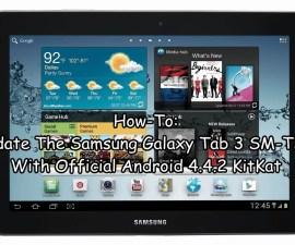 Update The Samsung Galaxy Tab 3