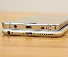 Samsung Galaxy Note5 and Apple iPhone 6 Plus
