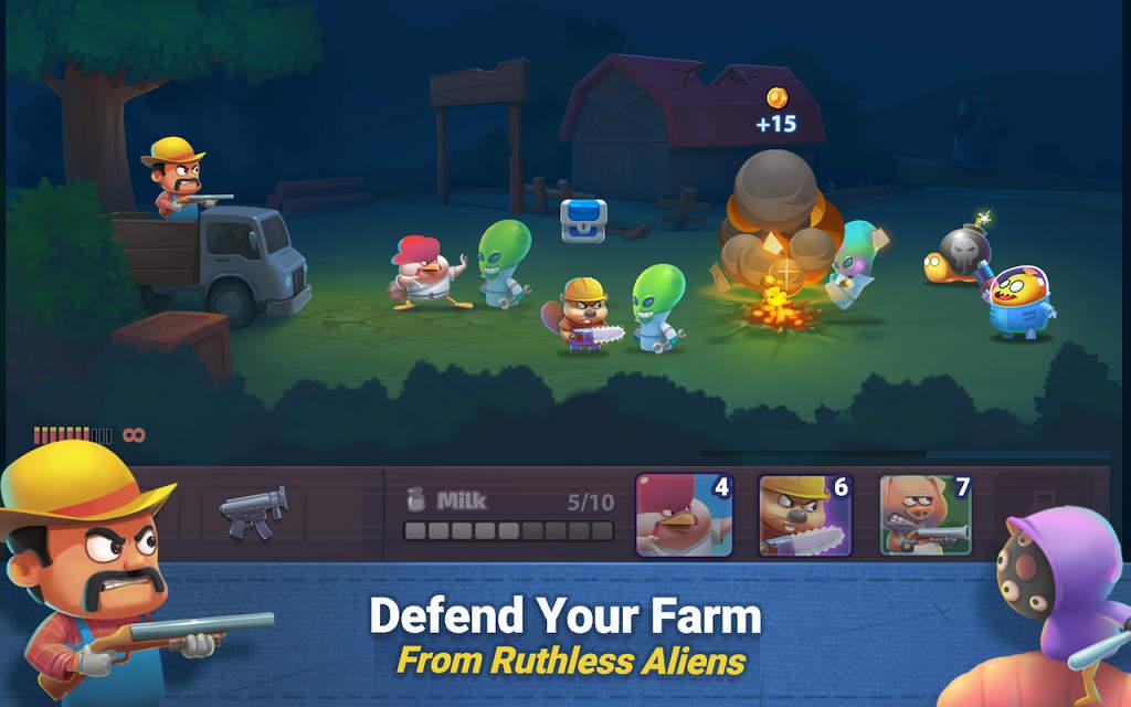 Farm Guns Alien Clash 2018 Mod Apk