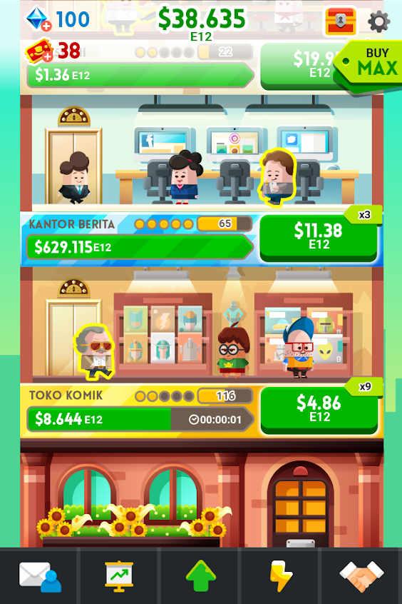 Cash, Inc. Fame & Fortune Game Mod Apk