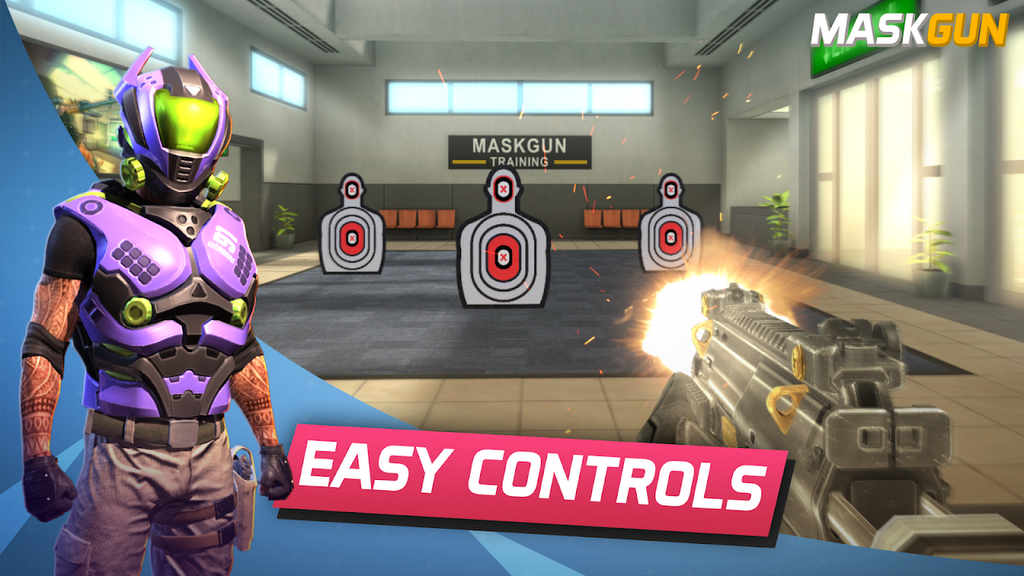 MaskGun Multiplayer FPS - Free Shooting Game Mod Apk