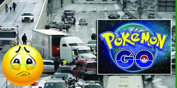 لعبة Pokemon Go تتسبب في حادثة سير
