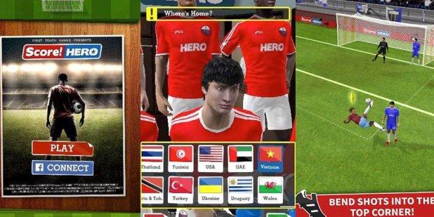 تحميل لعبة سكور هيرو 2017 Score Hero أخر إصدار و مُهكرة وبرابط مباشر