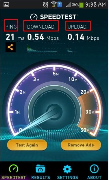 تحميل تطبيق Test Speed لقياس سرعة الإنترنت