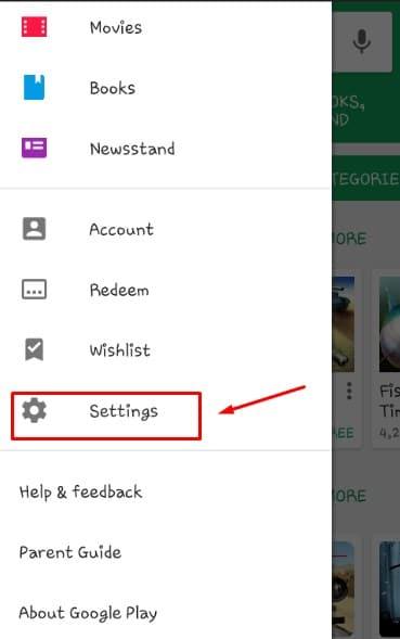 كيفية إيقاف التحديث التلقائي لجوجل بلاي
