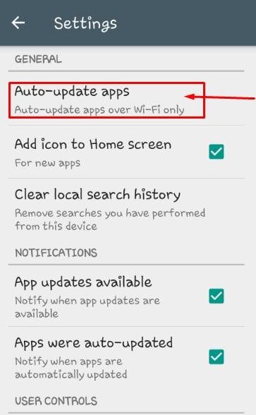 كيفية إيقاف التحديث التلقائي للتطبيقات في جوجل بلاي